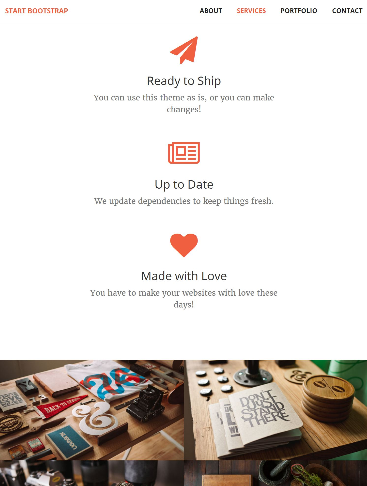 Download Bootstrap Template
