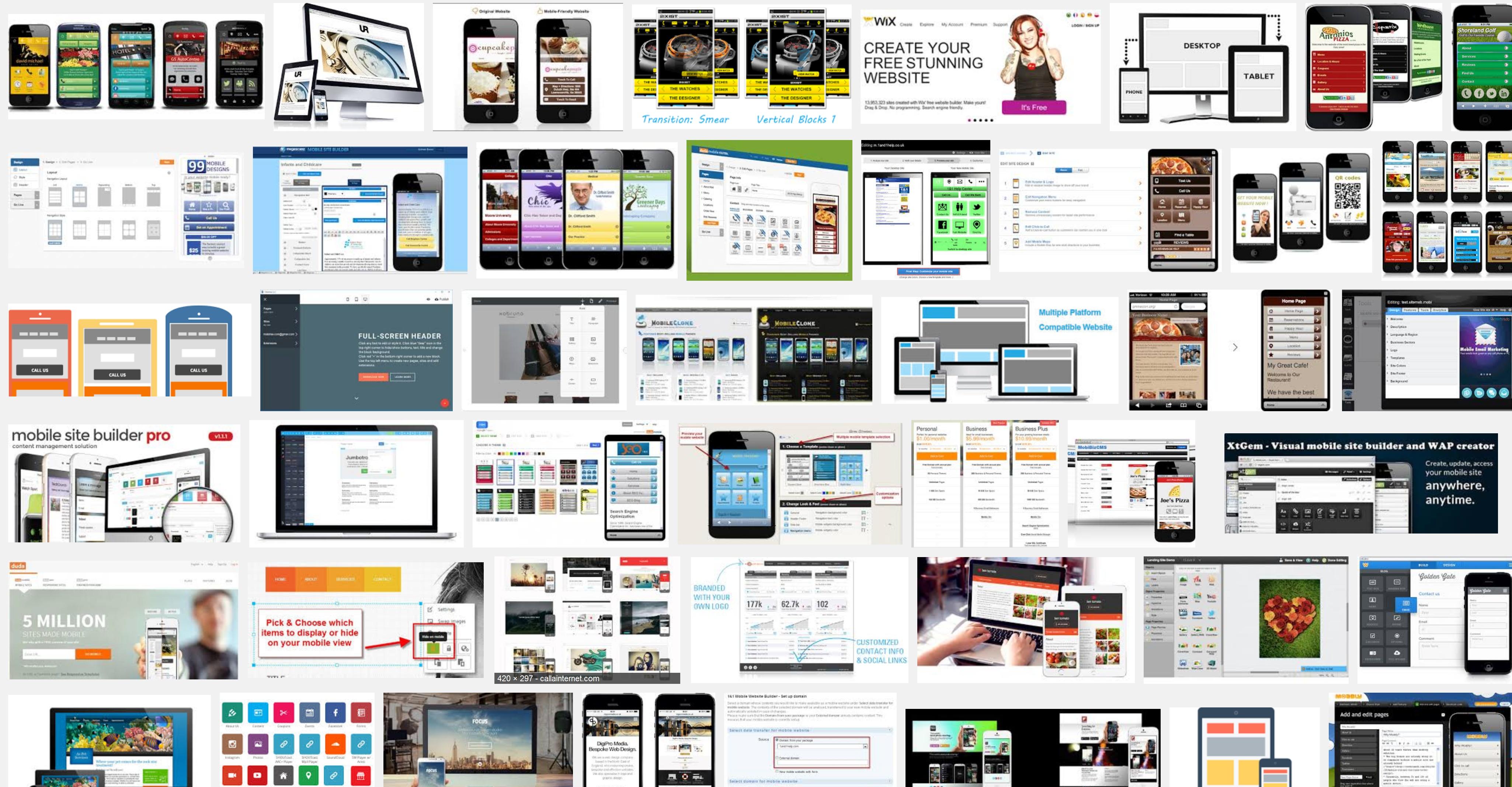 Offline Mobile Website Generator Software