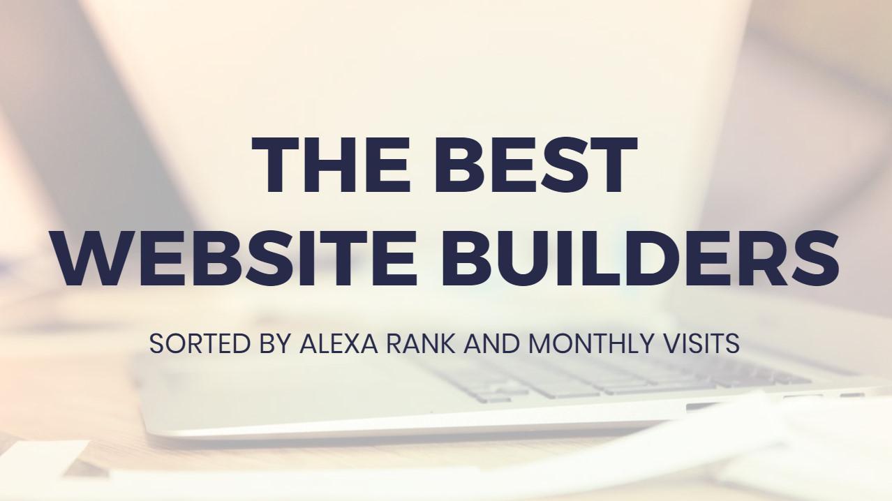 Most suitable Website Builders