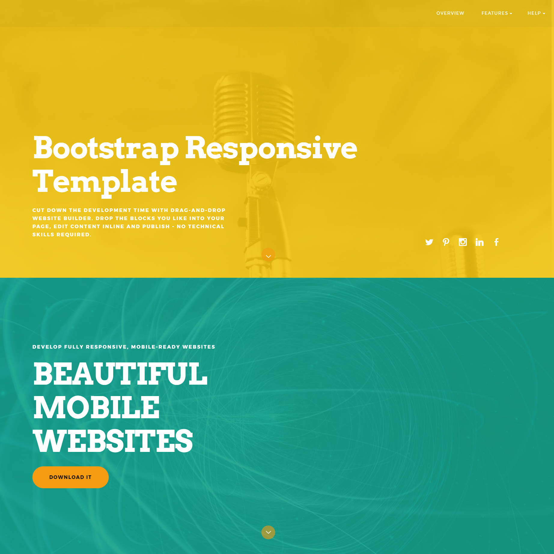 CSS3 Bootstrap Responsive Templates
