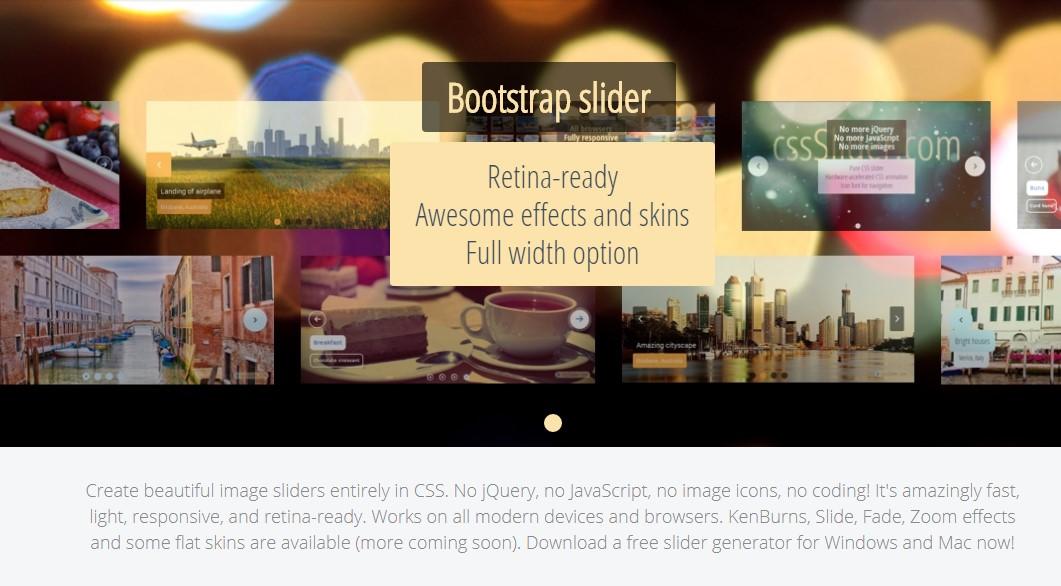 Bootstrap Carousel Slider Responsive