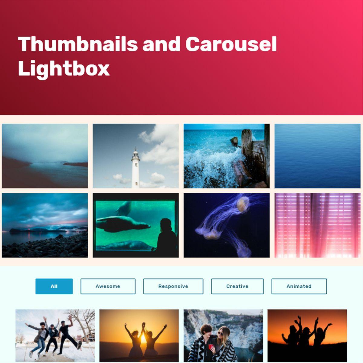 JavaScript Bootstrap Picture Slideshow