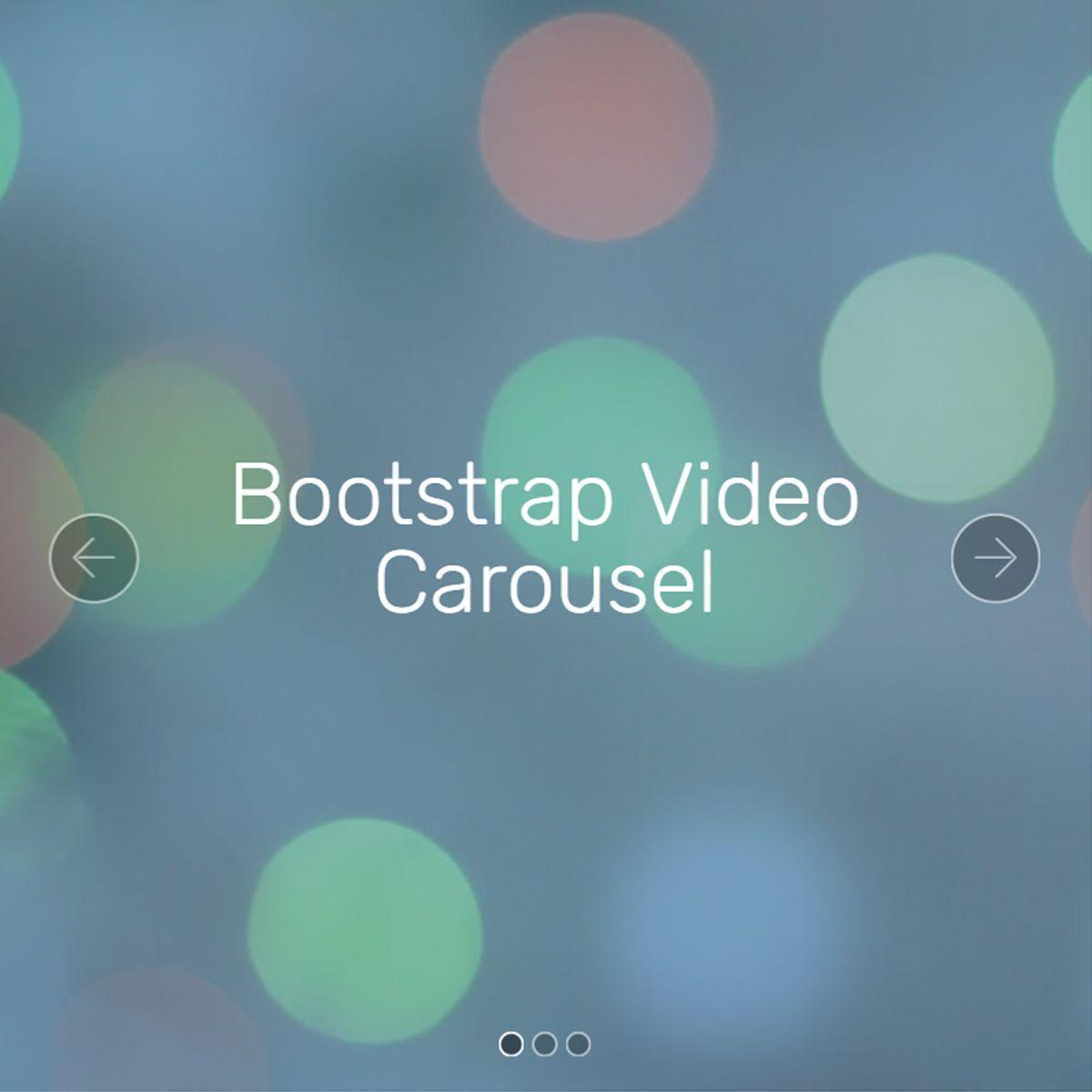 CSS Bootstrap Illustration Slider