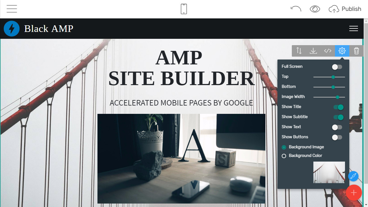 AMP Page Maker