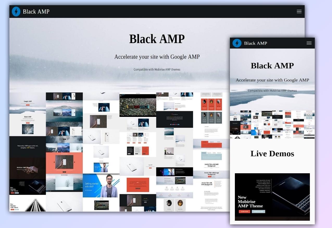 Black AMP extension