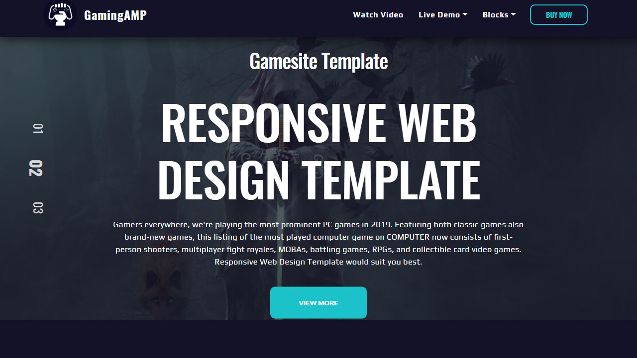Easy Simple Web Page Themes Set