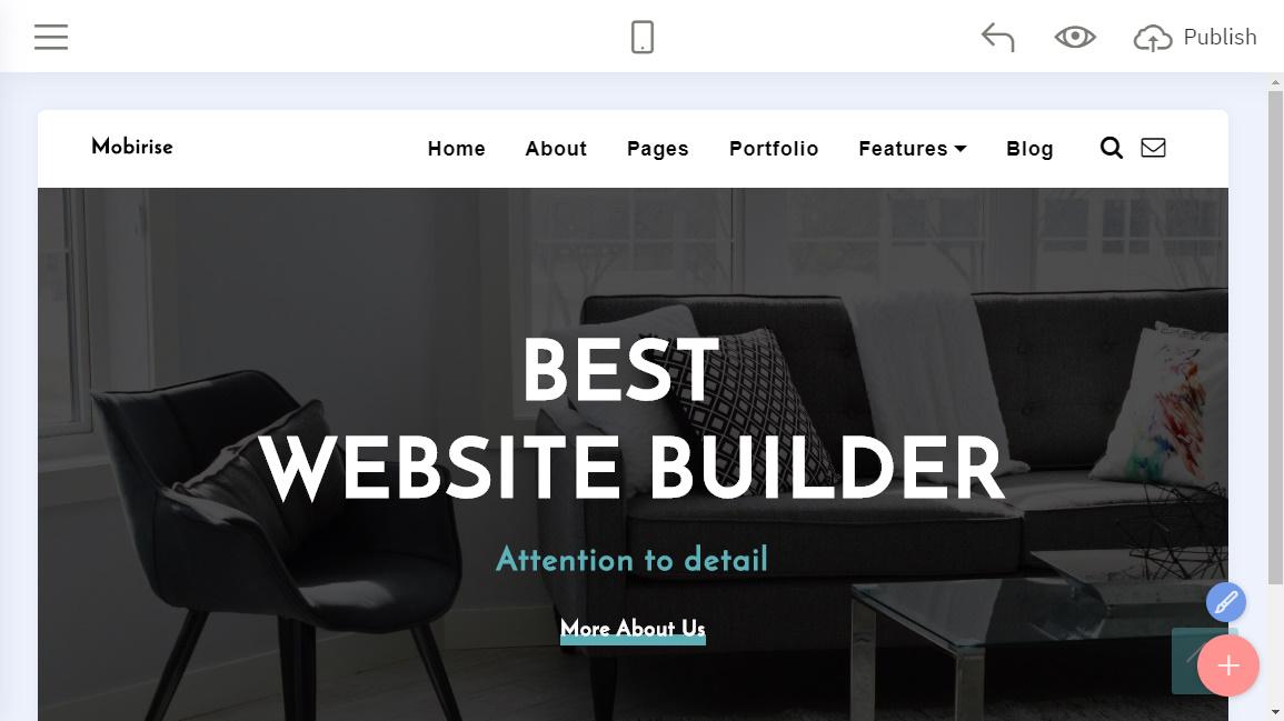 Mobirise Free Website Creator